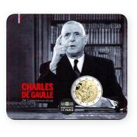 Ranska 2020 2 € Charles de Gaulle COINCARD