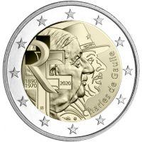 Ranska 2020 2 € Charles de Gaulle RULLA