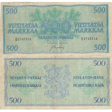 Suomi 1956 500 Markkaa P96a KL3-4