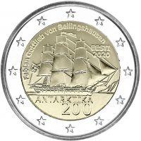 Viro 2020 2 € Etelämanner UNC