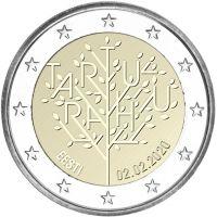 Viro 2020 2 € Tarton rauha UNC
