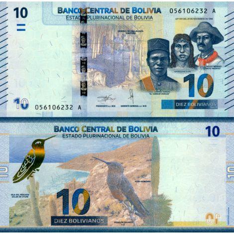 Bolivia 2018 10 Bolivianos P248 UNC