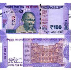 Intia 2018 100 Rupees P112cr UNC