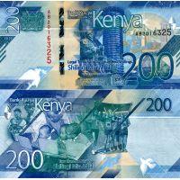 Kenia 2019 200 Shilling P54a UNC
