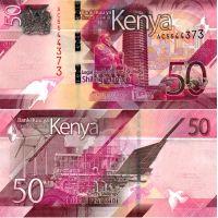 Kenia 2019 50 Shilling P52a UNC