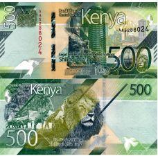 Kenia 2019 500 Shilling P55a UNC
