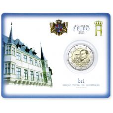 Luxemburg 2020 2 € Henry of the Netherlands COINCARD