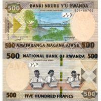 Ruanda 2019 500 Francs P42 UNC