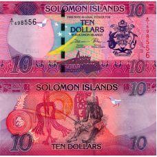 Salomonsaaret 2017 10 Dollars P33 UNC