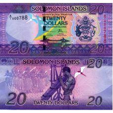 Salomonsaaret 2017 20 Dollars P34 UNC