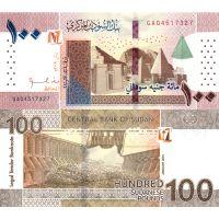 Sudan 2019 100 Pounds P77 UNC