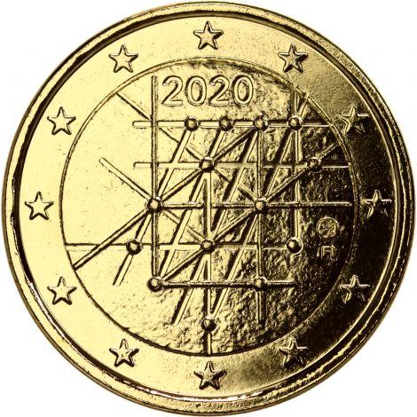 Suomi 2020 2 € Turun yliopisto 100 vuotta KULLATTU