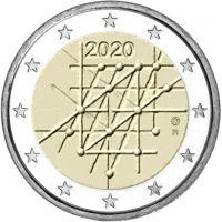 Suomi 2020 2 € Turun yliopisto 100 vuotta UNC