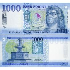 Unkari 2017 1000 Forint P203a UNC