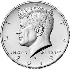 "USA 2019 $0,50 Kennedy ""D"" UNC"