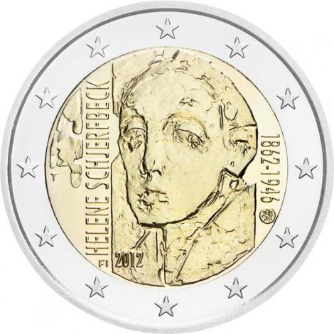 Suomi 2012 2 € Helene Schjerfbeck UNC