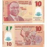 Nigeria 2010 10 Naira UNC
