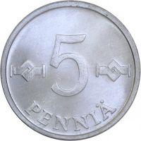 5 Penniä