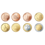 Italia 2005 1 c – 2 € Irtokolikot UNC
