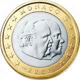 Monaco 2001 1 € UNC