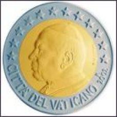Vatikaani 2002 2 € UNC