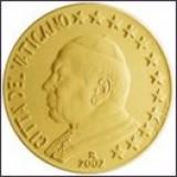 Vatikaani 2002 50 c UNC