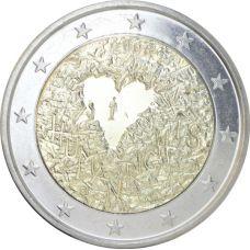 Suomi 2008 2 € Ihmisoikeuksien julistuksen 60. juhlavuosi UNC