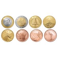 Slovenia 2009 1 c – 2 € Irtokolikot BU