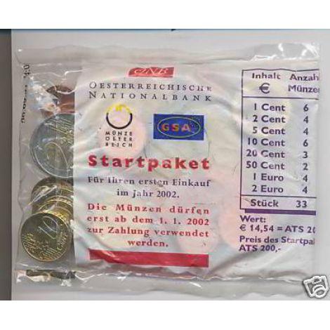 Itävalta 2002 Starttipussi