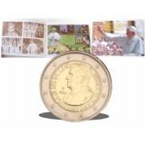 Vatikaani 2007 2 € Numisbrief UNC