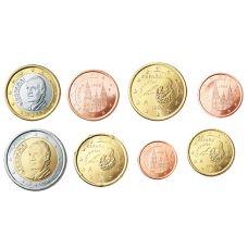 Espanja 1999 1 c - 2 € Irtokolikot UNC