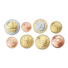 Kreikka 2008 1 c – 2 € Irtokolikot UNC