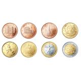 Italia 2007 1 c – 2 € Irtokolikot UNC