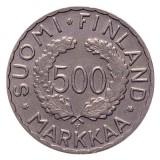 Suomi 1952 500 Markkaa HOPEA