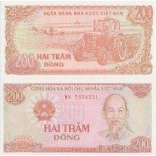 Vietnam 1987 200 Dong UNC