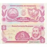 Nicaragua 1991 5 Centavos P168a1 UNC