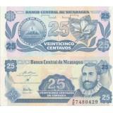 Nicaragua 1991 25 Centavos P170a-2 UNC