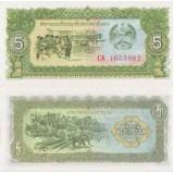 Laos 1979 5 Kip UNC