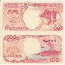 Indonesia 1992 100 Rupiah P127 UNC