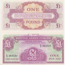 Englanti 1972 1 Pound UNC