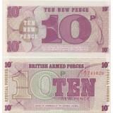 Englanti 1972 10 New Pence UNC