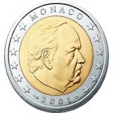 Monaco 2001 2 € UNC