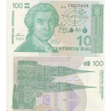 Kroatia 100 Dinara UNC