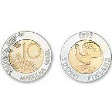 Suomi 2001 10 Markkaa PROOF