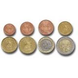 Monaco 2001 1 c – 2 € Irtokolikot UNC