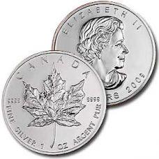 Kanada 2009 5 Dollars Maple leaf 1 Unssi 9999 HOPEA BU