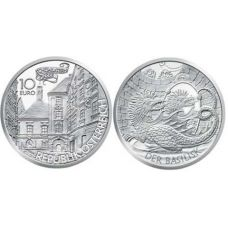 Itävalta 2009 10 € The Basilisk UNC