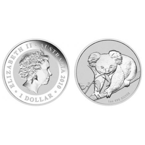 Australia 2010 1 Dollar Koala 1 Unssi 999 HOPEA