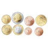 Itävalta 2017 1 c - 2 € Irtokolikot UNC