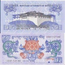 Bhutan 2006 1 Ngultrum P27 UNC